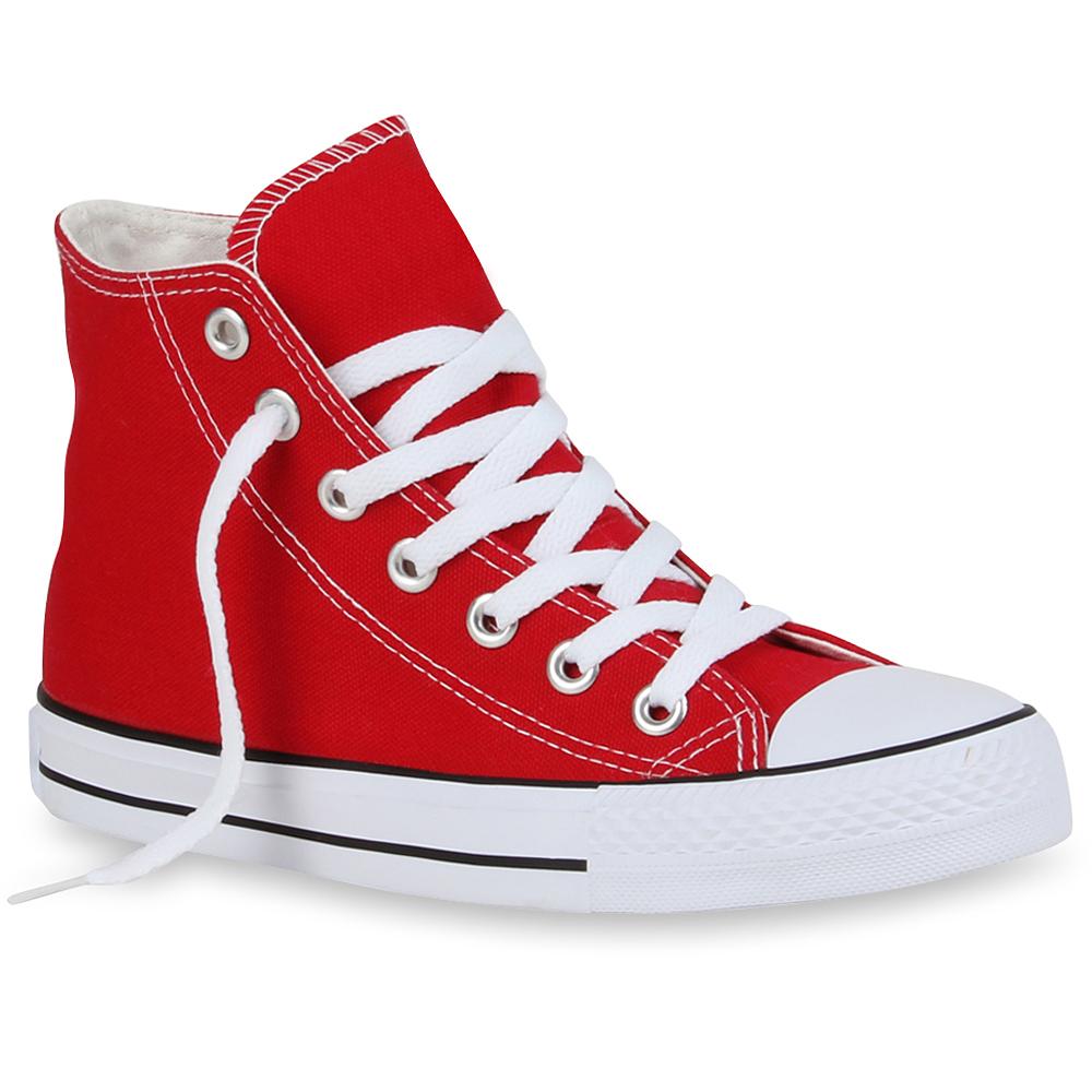 Damen Sneaker high - Rot
