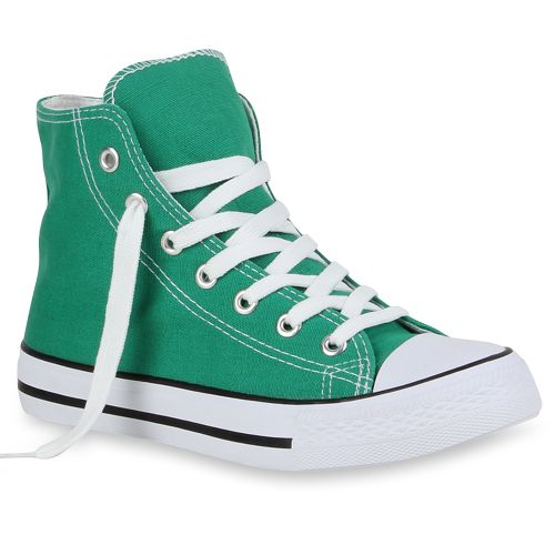 Damen Sneaker high - Grün