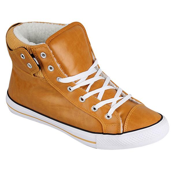 Herren Sneaker high - Hellbraun