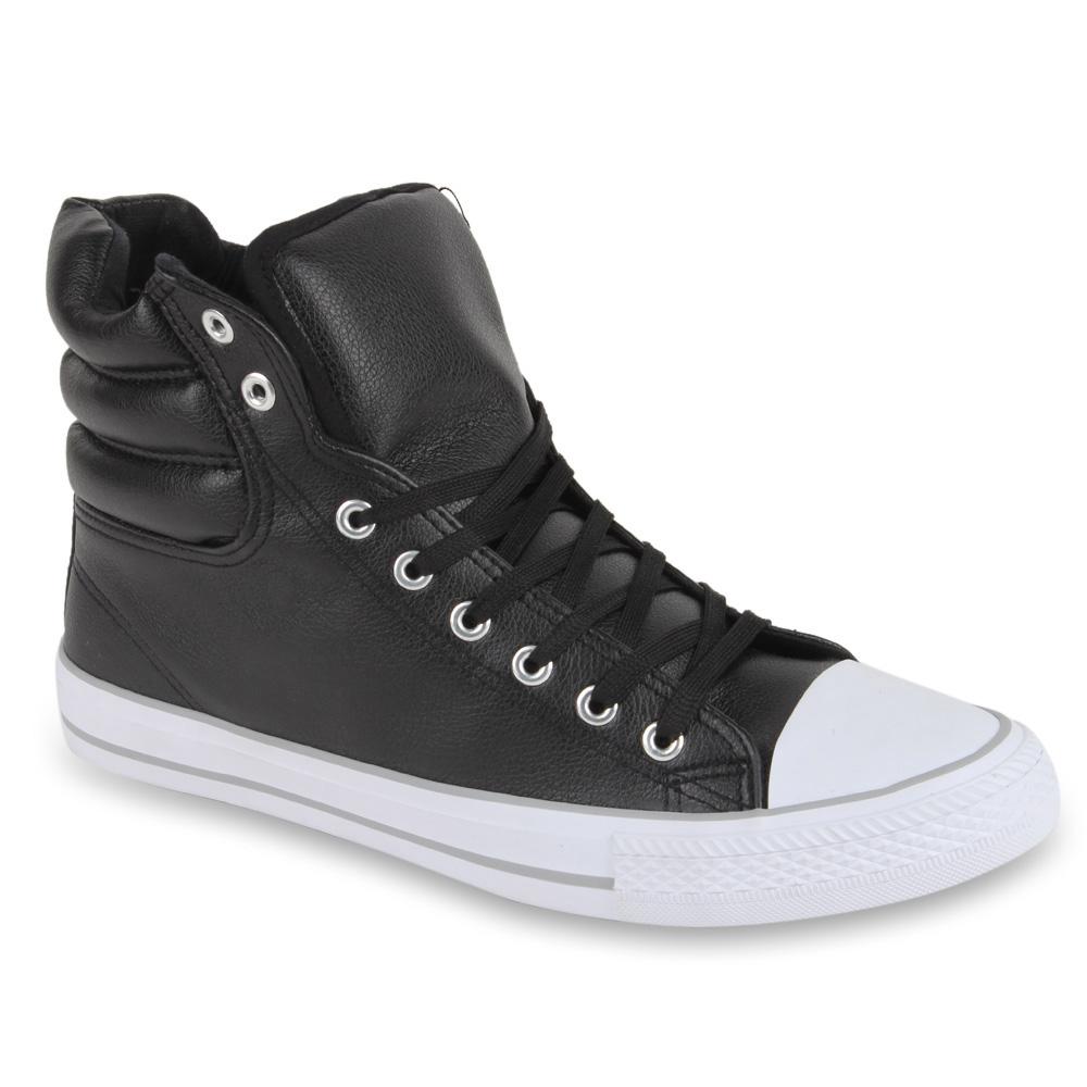 herren sneaker in schwarz 95056 3401. Black Bedroom Furniture Sets. Home Design Ideas
