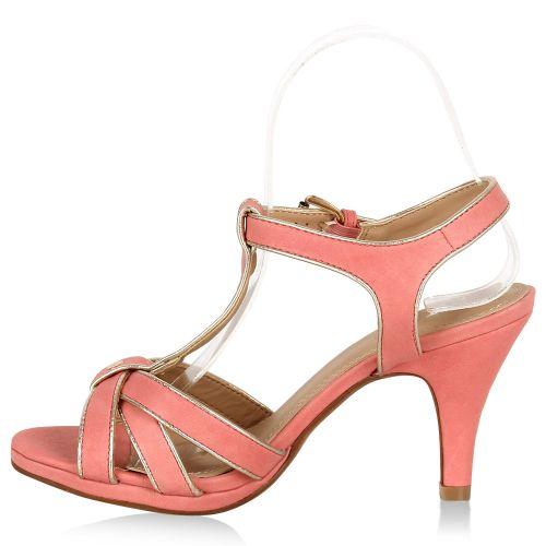 Damen Klassische Sandaletten - Apricot