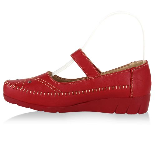 Damen Pumps Klassische Pumps - Rot