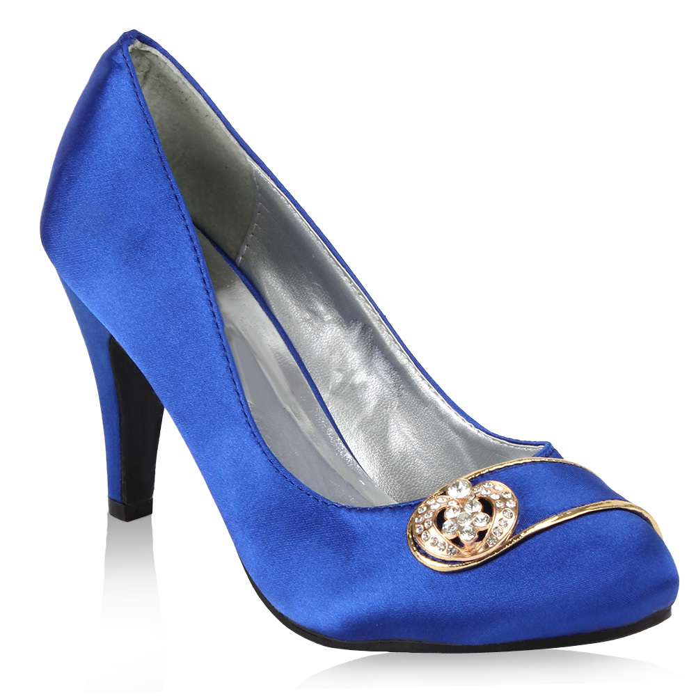 damen pumps in blau 95834 153. Black Bedroom Furniture Sets. Home Design Ideas