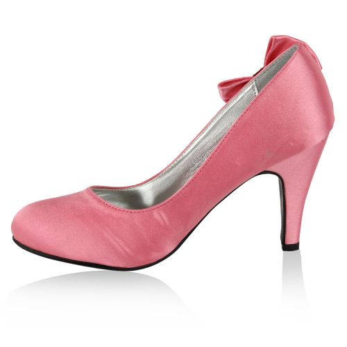 Damen Pumps High Heels - Rosa - Golden Valley