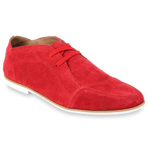 Herren Klassische Halbschuhe - Rot