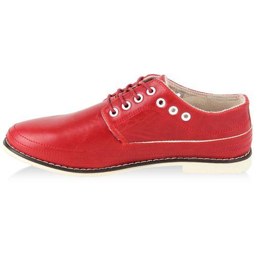 Herren Halbschuhe Outdoor Schuhe - Rot