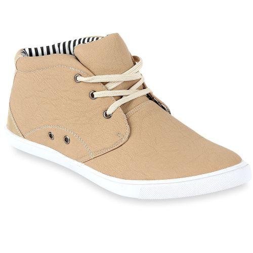 Herren Sneaker high - Beige