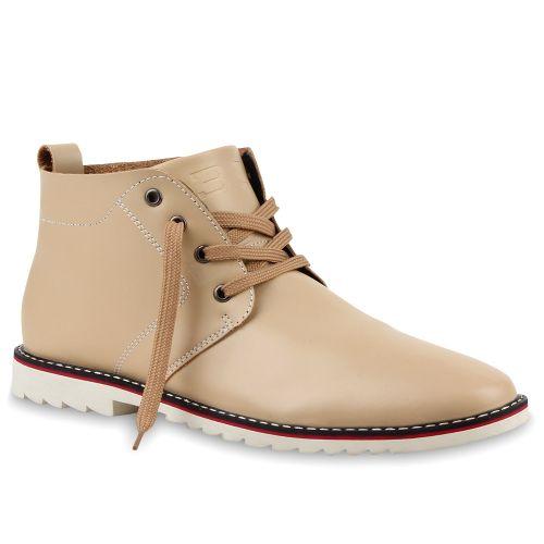 Herren Boots Outdoor Boots - Beige