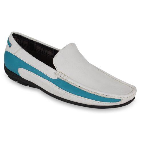 Herren Klassische Slippers - Weiß Türkis