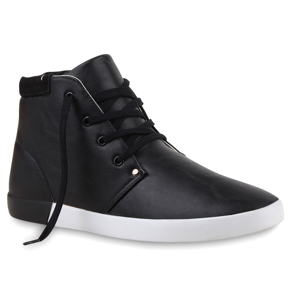 Herren Sneaker high - Schwarz