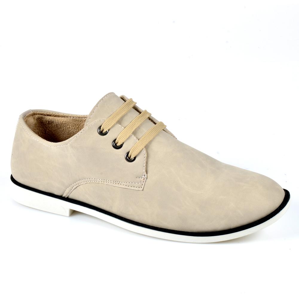 Herren Halbschuhe Outdoor Schuhe - Creme