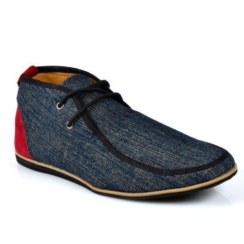 Herren Boots Desert Boots - Dunkelblau