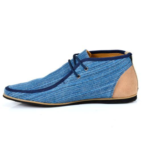 Herren Desert Boots - Blau