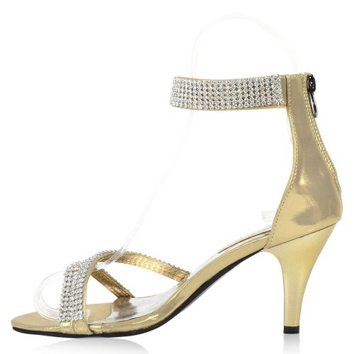Damen Klassische Sandaletten - Gold