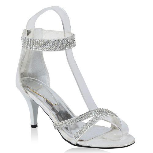 Damen Klassische Sandaletten - Silber