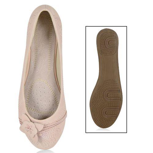 Damen Ballerinas - Rosa - Montefalco