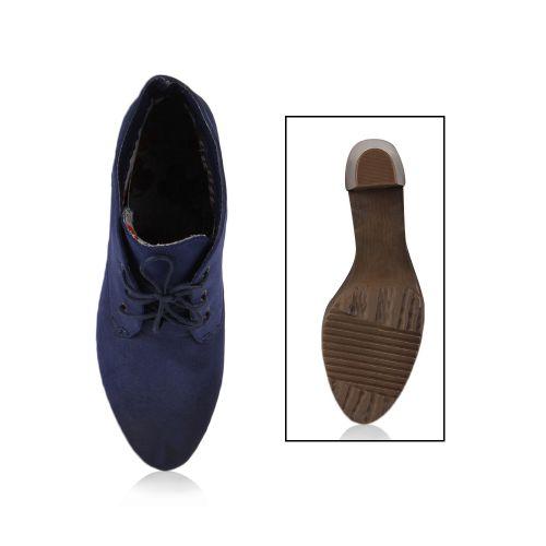 Damen Klassische Stiefeletten - Blau