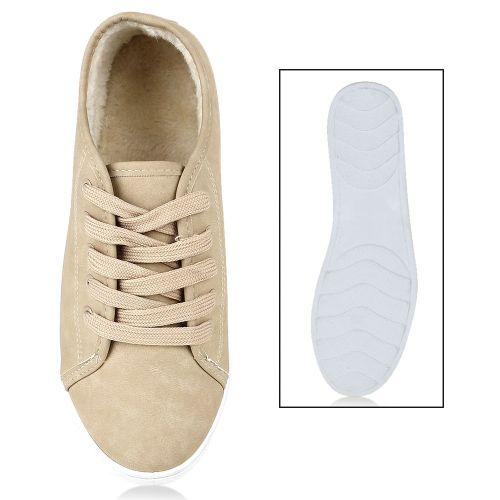 Damen Sneaker low - Beige