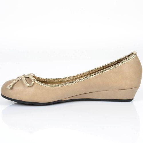 Damen Pumps High Heels - Khaki