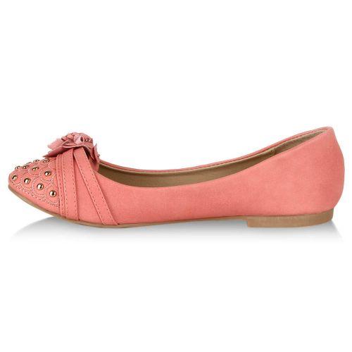 Damen Ballerinas Klassische Ballerinas - Apricot
