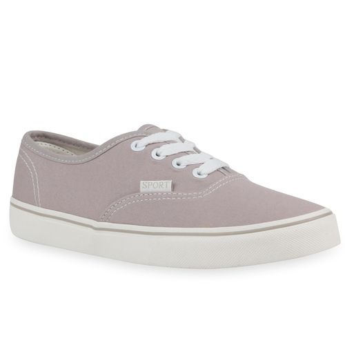Damen Sneaker low - Hellgrau