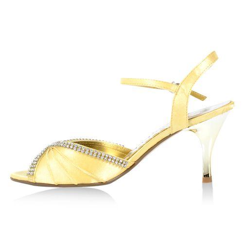 Damen Sandaletten Klassische Sandaletten - Gold