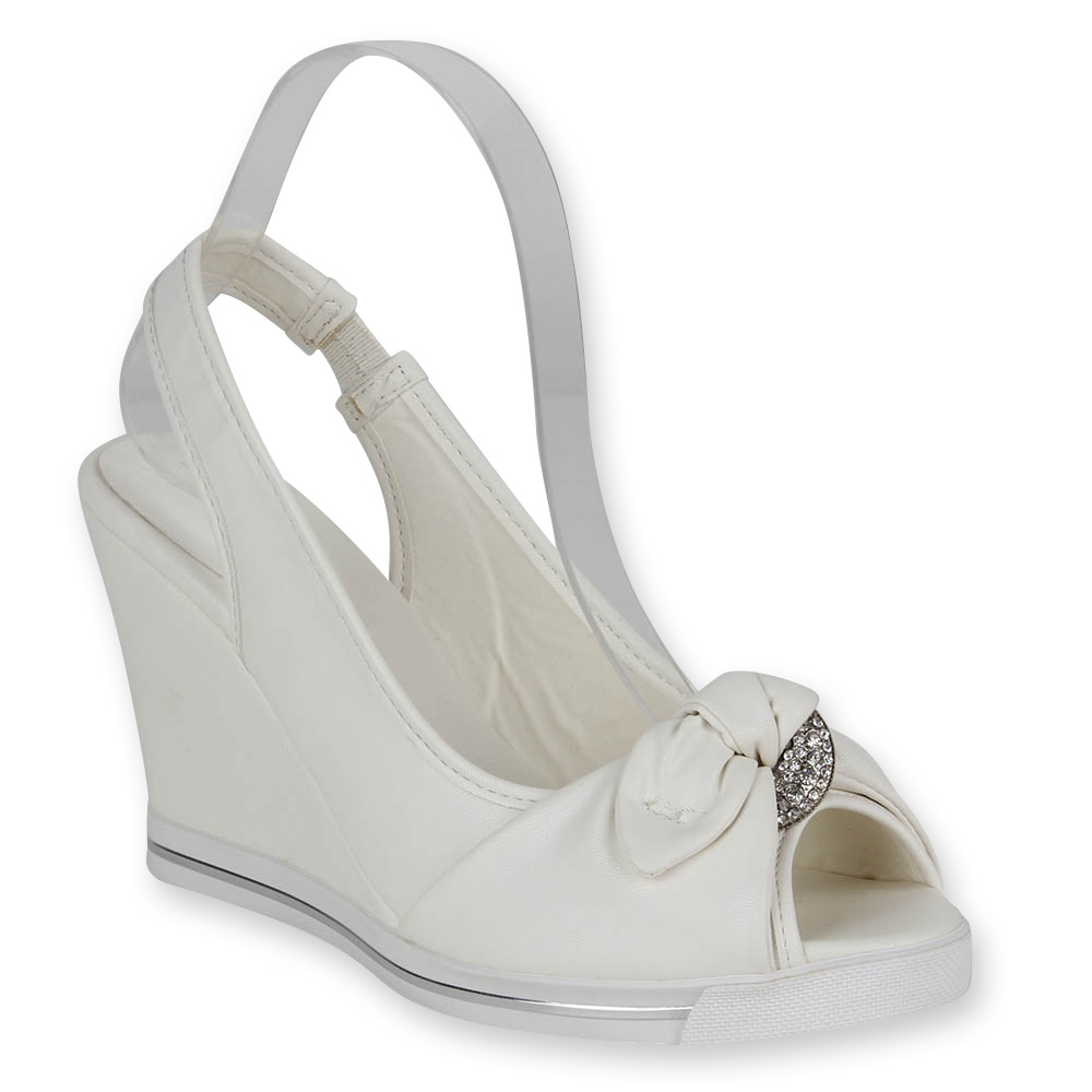 Damen Sandaletten Klassische Sandaletten - Weiß