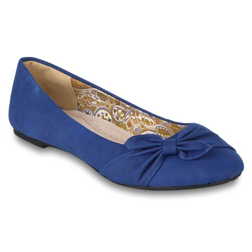 Damen Klassische Ballerinas - Blau