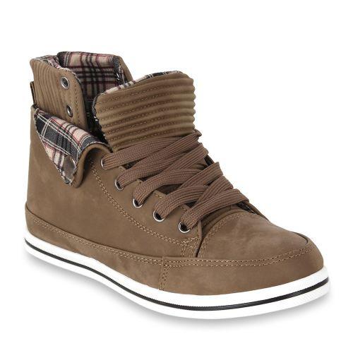Damen Halbschuhe Outdoor Schuhe - Khaki