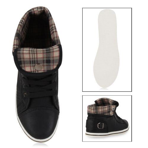 Damen Sneaker high - Schwarz