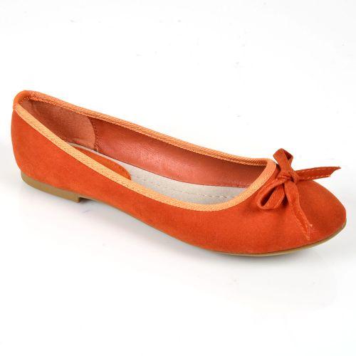 Damen Klassische Ballerinas - Orange