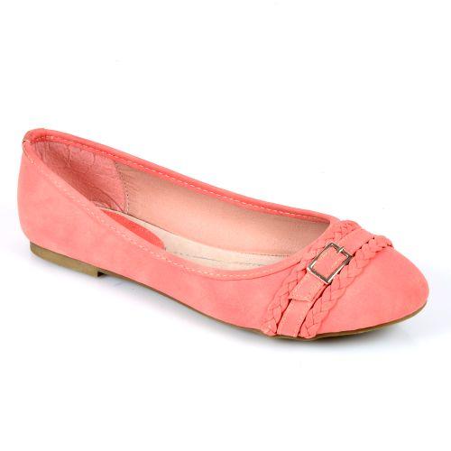 Damen Ballerinas Klassische Ballerinas - Peach