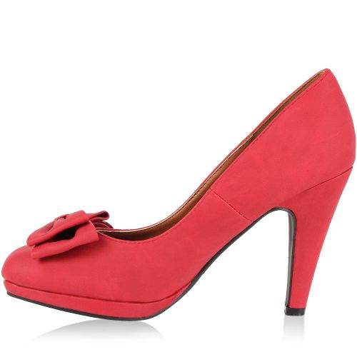Damen Pumps High Heels - Rot