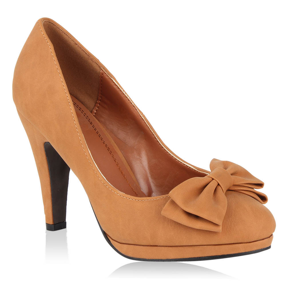 Damen Pumps High Heels - Braun
