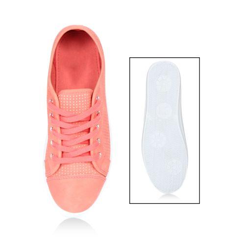 Damen Sneaker low - Apricot