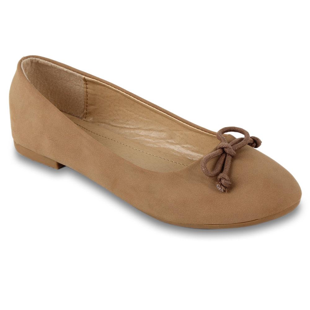 Damen Ballerinas Klassische Ballerinas - Khaki