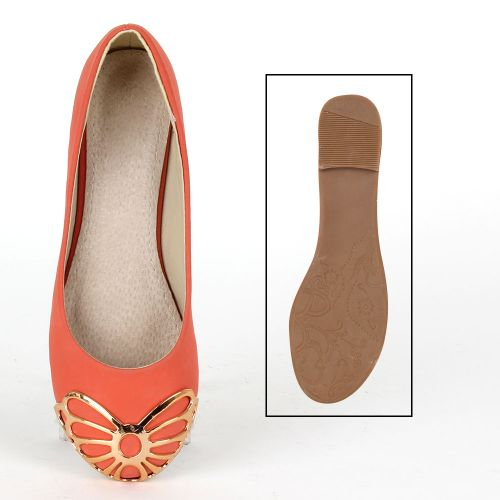 Damen Klassische Ballerinas - Coral
