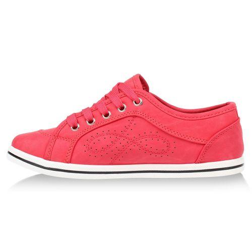 Damen Sneaker low - Hellrot