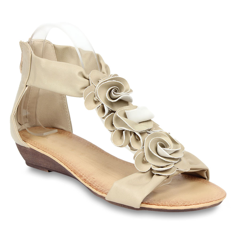 Damen Sandaletten Klassische Sandaletten - Beige