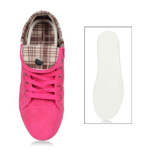 Damen Sneaker low - Fuchsia