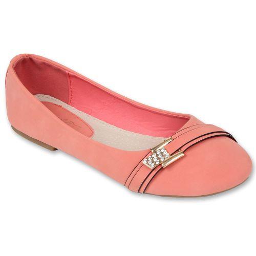 Damen Ballerinas Klassische Ballerinas - Coral