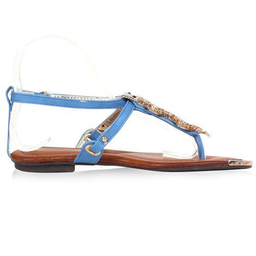 Damen Sandaletten Klassische Sandaletten - Blau