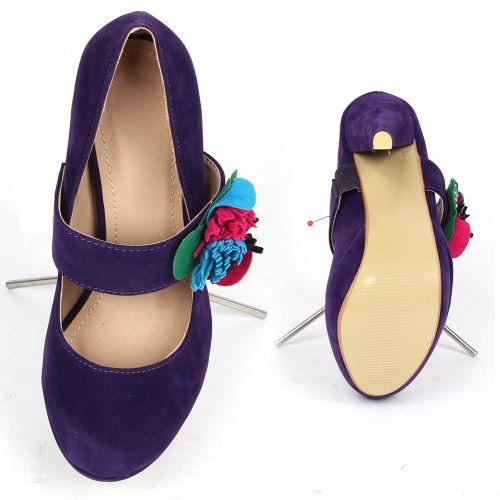 Damen Pumps High Heels - Lila
