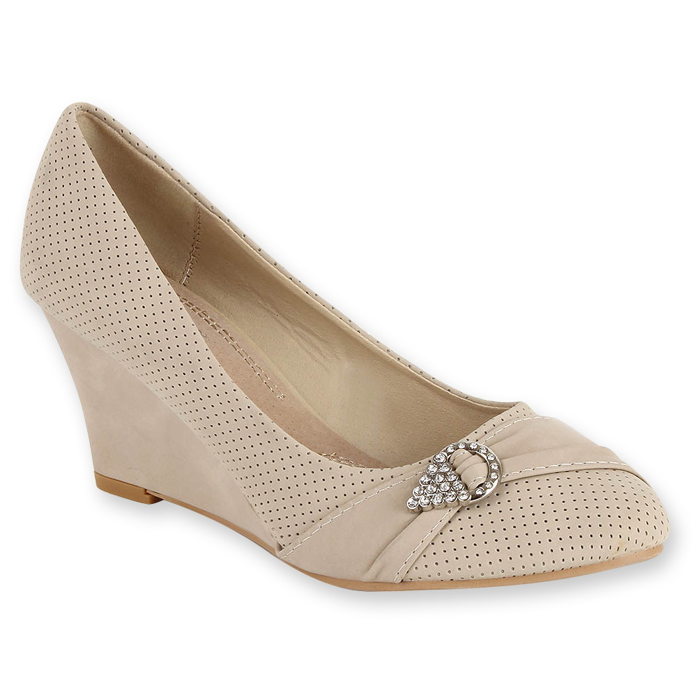 Damen Pumps Klassische Pumps - Creme