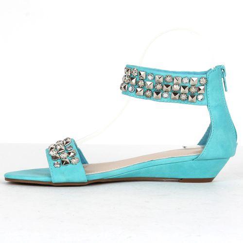 Damen Sandalen Komfort Sandalen - Türkis