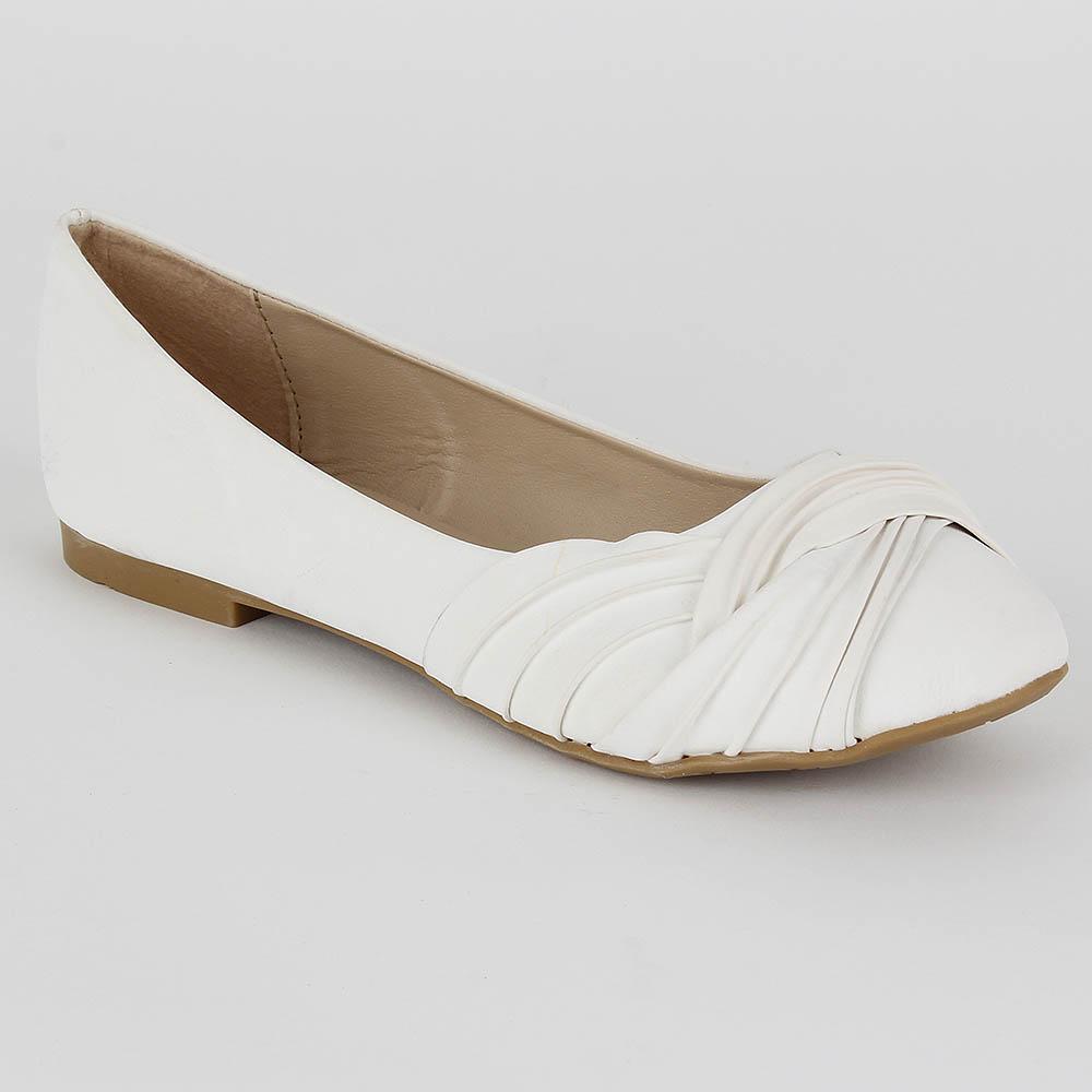 Damen Klassische Ballerinas - Weiß