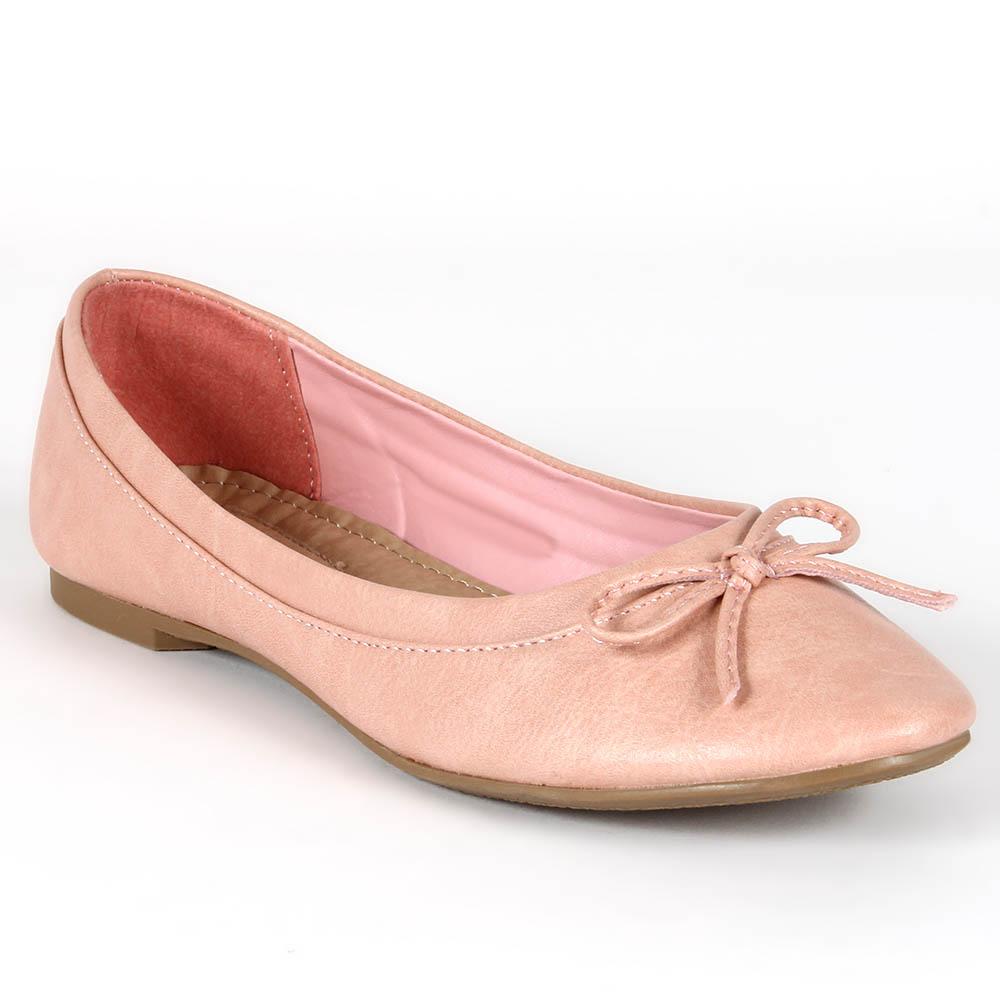 Damen Klassische Ballerinas - Apricot