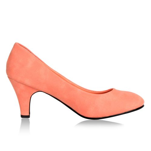 Damen Klassische Pumps - Apricot