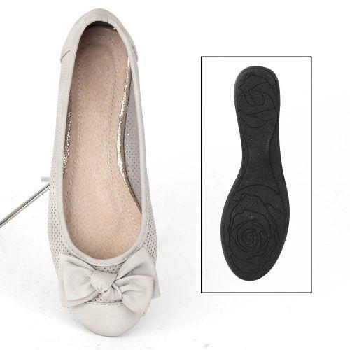 Damen Klassische Ballerinas - Hellgrau