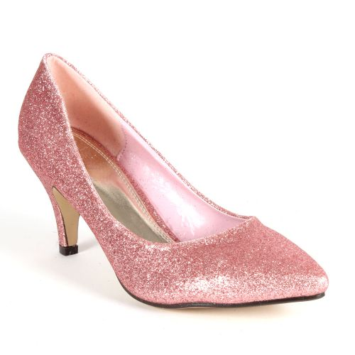 Damen Pumps Klassische Pumps - Rosa - Croix